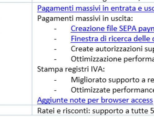 Rilascio Add-On Ring 3.07.06 – Supporto Filiali – Generazione File Sepa – Varie – RING