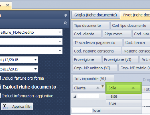 Estrazione delle righe documento di tipo 'Riga Bollo' per calcolare/verificare l'importo per il pagamento del bollo virtuale – NOTYO ver. 1.7.2.39