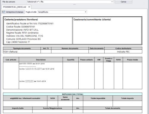 Aggiornamenti modulo fatturazione elettronica – NOTYO ver. 1.7.2.40